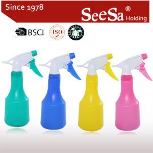 350ml Mist frasco pulverizador domésticos/Pressão Manual Acionar Pulverizador (SX-205-2)