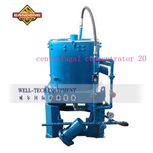 Concentratore dell'oro del giacimento detritico/piante centrifughi lavata dell'oro
