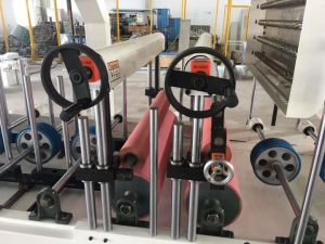 Madeira MDF de cola quente e frio / Placa de partículas de Acondicionamento com perfil da estrutura da máquina de melamina/ Renolit tiras sobre a placa em acrílico de obturação do cilindro de alumínio colada