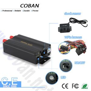 Auto GPS Tracker Engine Cut off Tk103A mit FCC Alarm, Power on/off Alarm, Movement Alarm, Report Data zu Your Server