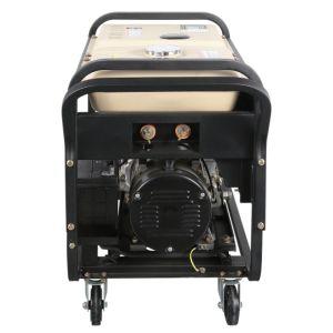 De nieuwe Diesel van het Type Generator van het Lassen met de Witte Tank van de Brandstof