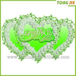 Высокое качество всех влюбленных в форме сердечка стекло наклейку