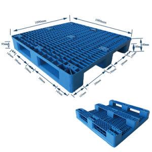 1000*1000 3 Corredores de HDPE venda direta de fábrica para a indústria de paletes de plástico