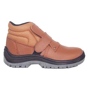 El mejor trabajo de cuero venta de los hombres Zapatos de seguridad