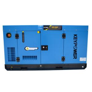 20kw de potencia de tipo silencioso Generador Diesel con motor de Foton chino