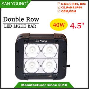 4.5Inch 40W LED CREE LED em trilhas de luz de trabalho rígido acende o LED CREE Bar