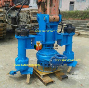 Excavadora de la bomba sumergible de dragado con el sistema hidráulico