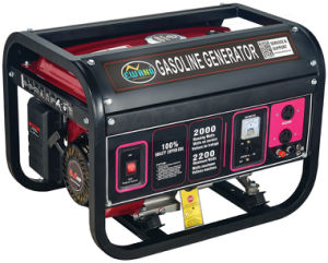 2.6kw 7.0HP Recoil&Electric Start Gasoline Generator