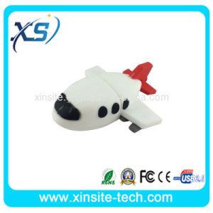 平らな形PVC USBのフラッシュ駆動機構(XST-U074)