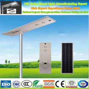 Fabricante de China, todo en uno de alta potencia LED de luz de calle solar integrada