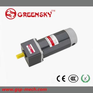 Alta eficiencia de GS de 90mm 200W 24V 3500rpm del motor de CC de engranajes para la venta caliente