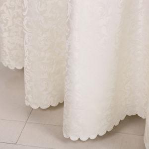Usine de gros de linge de couleur blanche de l'hôtel Hôtel capot table