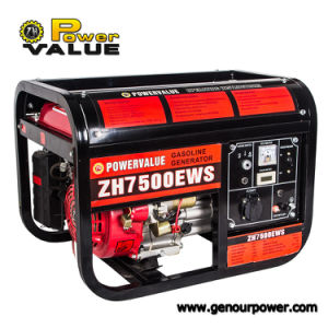 Gx420 Engine 15HP Gasoline Generator Air Cooled Power Back-up 6kw Generator