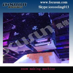 Máquina de hielo nieve Focusun haciendo