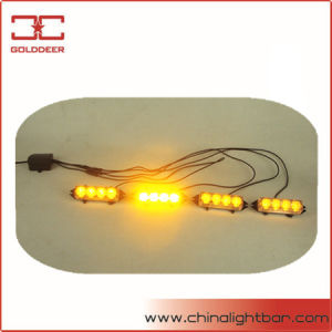 TIR 4W Amber Flashing LED Grille Lights (SL613-4)