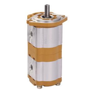 Bomba de Óleo da Engrenagem Dupla do hidráulico Cbwl-E320/E310 da Bomba de Alta Pressão