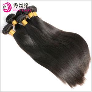 2018 nouveau style de femme populaire hair extension Malaysian Remy cheveux raides Tissage de cheveux humaines naturelles