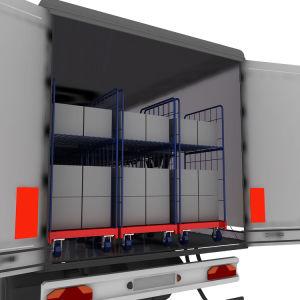 Материально-техническое обеспечение промышленности супермаркет хранения металлический контейнер с 2 сторон