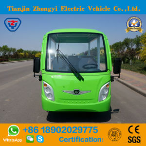 Marca Zhongyi fora da estrada 8 Lugares a Visitar carro eléctrico com certificação CE