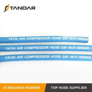 Slang van de Compressor van de Lucht EPDM van hoge Prestaties de Blauwe Hydraulische Rubber