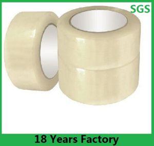 使用された粘着テープ、透過BOPPテープ、ゆとり、ブラウンのパッキングテープを包むカートン