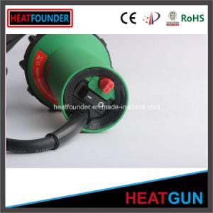 Aire caliente de color verde de 1600W Máquina de soldadura con interruptor de temperatura