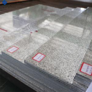 Grains de pierre de marbre de couleur de la bobine en aluminium à revêtement de matériaux de construction