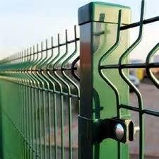 3Dによって曲げられるPVC粉によって塗られる電流を通された溶接された金網の塀のパネル