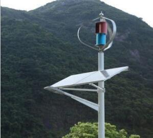 gerador vertical pequeno das energias eólicas de Tubine do vento da linha central de 500W 24V