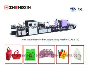 Sacchetto non tessuto della casella che fa macchina con la vendita calda Zxl-E700