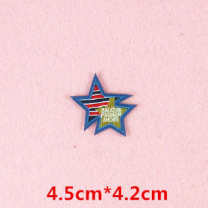 Mini colorida imagen de parche bordado