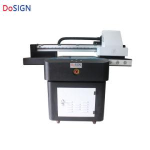 A1 크기 색깔 1개의 통행 UV 9060의 평상형 트레일러 인쇄 기계에 백색 와니스 인쇄