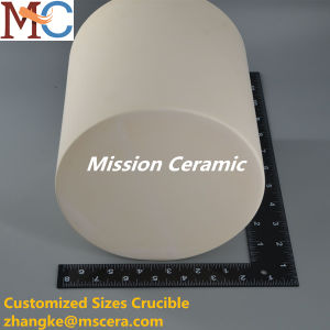 Alta resistência ao calor Cadinho de Alumina personalizada