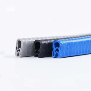PVC 가장자리는 강철판을%s 가진 고무 손질 물개를 보호한다