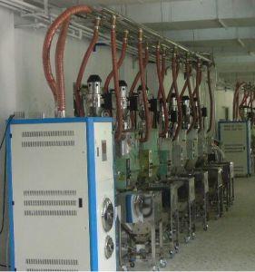 中央未加工プラスチックの転送機械
