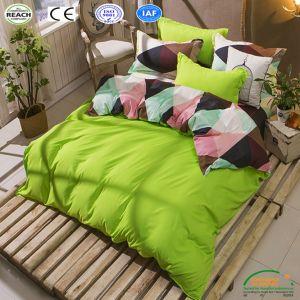 標準的な敷布ポリエステルAb側面の羽毛布団カバー卸売の寝具の一定の寝具3/4PCS/Set