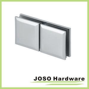 Chrome скошенной отверстие в стекле стекло кронштейны для установки на стену (BC301)