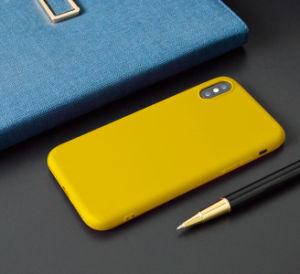方法超薄いキャンデーカラーiPhoneのための柔らかいTPU無光沢の電話箱カバーiPhone XのケースYpf31のための7つの8つのプラスと6 6s
