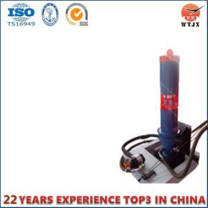 FC de Ação Única de cilindros hidráulicos telescópicos para veículo