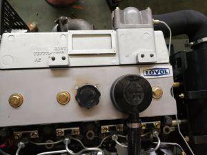 Fase tres del grupo electrógeno diesel Lovol