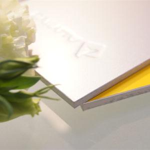 5mm de grosor del panel ACP en el exterior de aluminio para la decoración del hogar