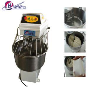 Mixer van het Deeg van de Bloem van de Apparatuur van de Bakkerij van de Goedkeuring van Ce 60kg de Automatische Industriële Op zwaar werk berekende