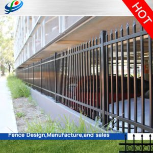 Alumínio barata/Zoneamento de ferro forjado e Vedações Gate utilizados para casa e jardim/piscina/Parque Infantil/Road/Painel de cerca de bovinos