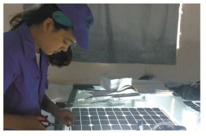 La luz solar lámpara Solar Panel Solar lámpara Solar Generador Solar System Hzad-001