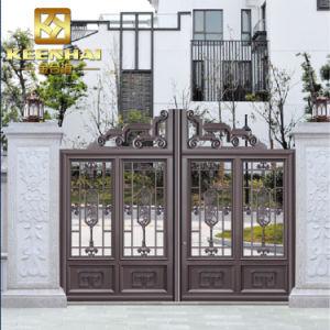 Barriera di sicurezza di alluminio architettonica del giardino del metallo della villa