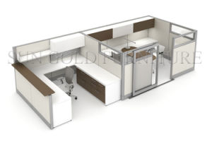 Nuovo divisorio concentrare moderno dell'ufficio della Tabella per 2 la persona (SZ-WST829)
