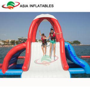 Il parco a tema gonfiabile dell'acqua di divertimento guida la sosta gonfiabile del Aqua