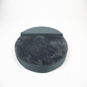 Los nuevos anillos de color gris alfombra Cat Pet almohadillas de cachorro de Perro Cojin cama redonda personalizada
