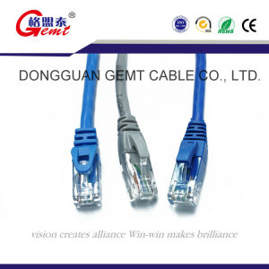 Una buena calidad UTP CAT7 CAT6 CAT5e Cable de conexión SFTP