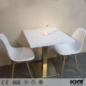Kkr Personalizar la mesa de comedor superficie sólida sobre la mesa de restaurante (181105)